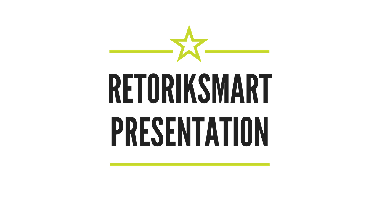 Retoriksmart Presentation